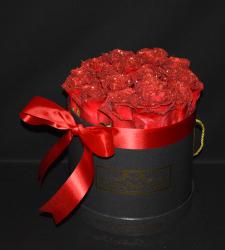 LUSSO PIATTO RED ROUND BOX