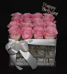 LUSSO PIATTO PINK HAPPY BIRTHDAY