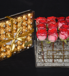 ACRYLIC COLLECTION WITH CHOCOLATE
