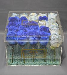 LUSSO PIATTO ACRYLIC BLUE