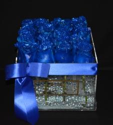 LUSSO PIATTO ACRYLIC PEARL BLUE